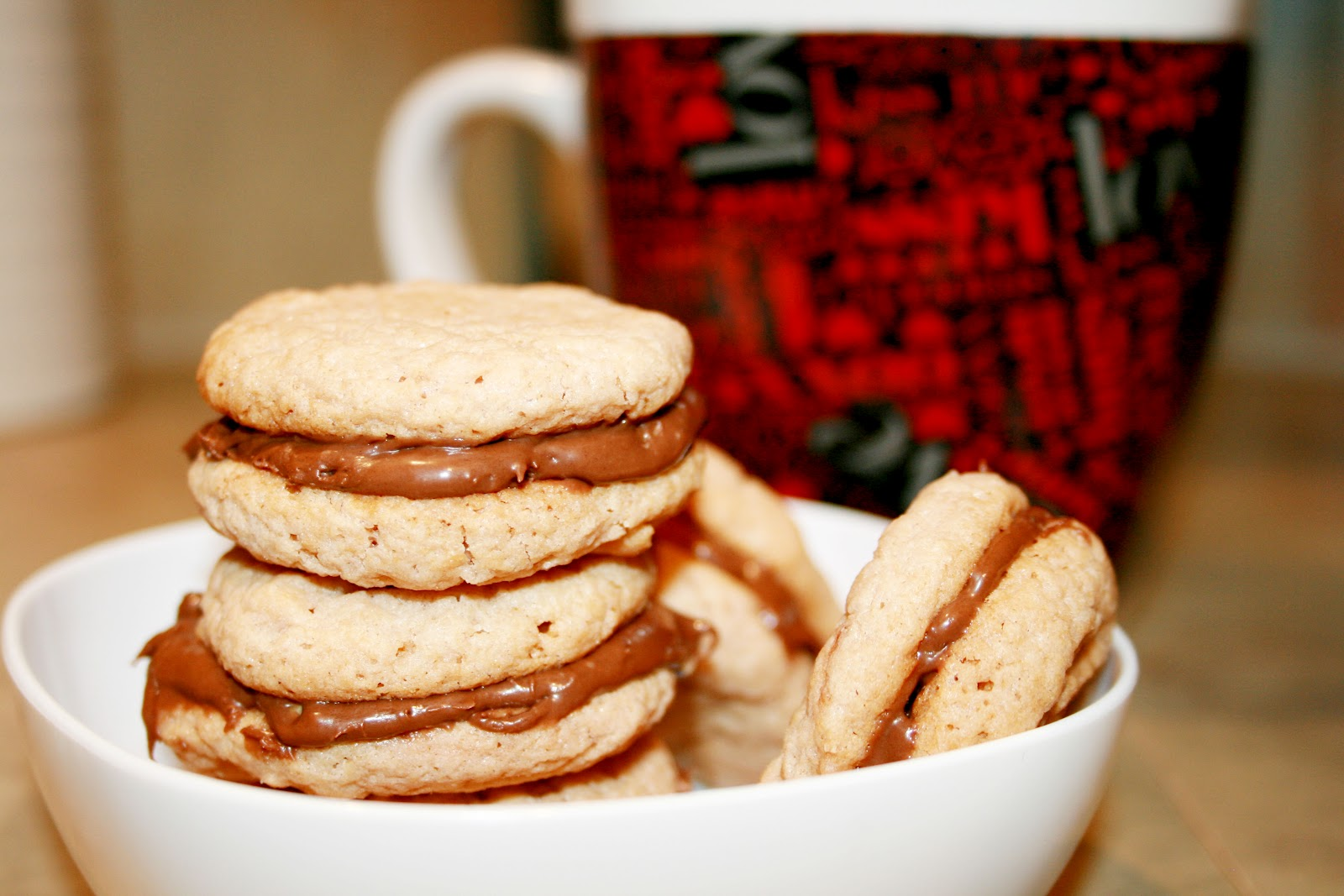 mocha sandwich cookies cookiesandcows com a thick chewy mint mocha ...