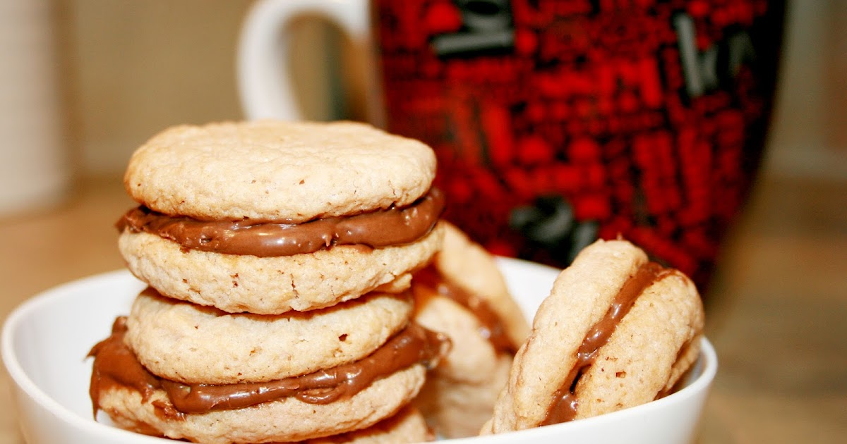sugar & spice: Mocha Hazelnut Sandwich Cookies