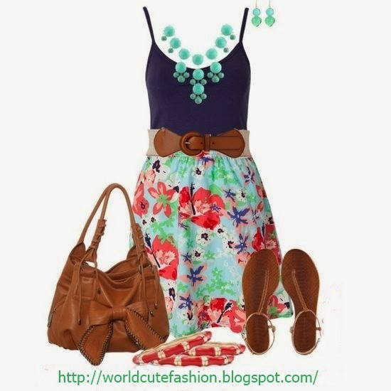 Cute Casual Summer Outfits  See More http://worldcutefashion.blogspot.com/