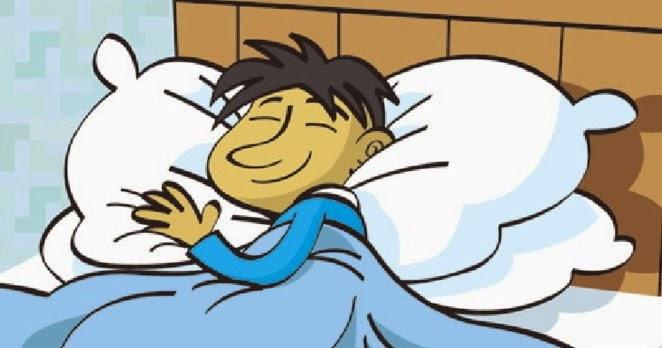 WALLPAPER ANDROID  IPHONE: Gambar Kartun Pria Tidur