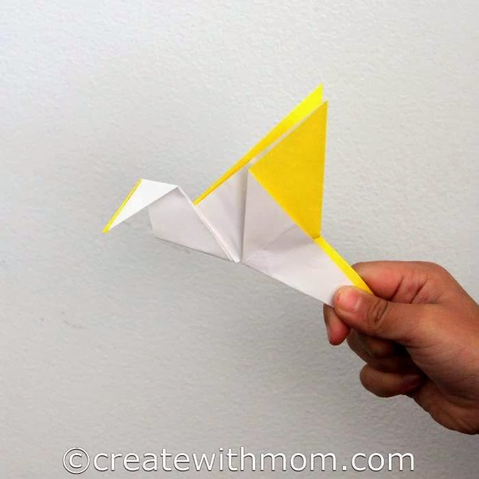 Origami Toys Fish And Bird