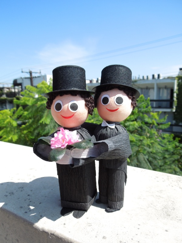 Groom Groom Wedding figures