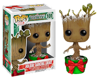 Funko Pop! Metallic Holiday Dancing Groot