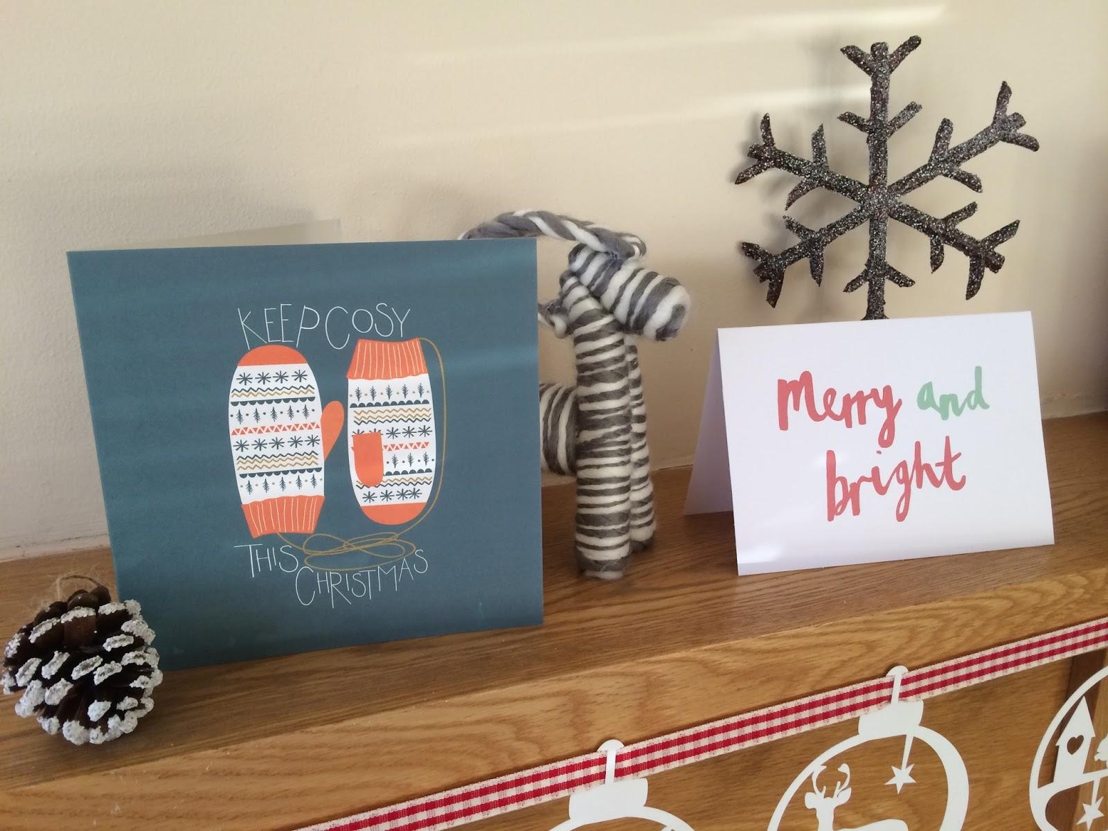 written christmas cards