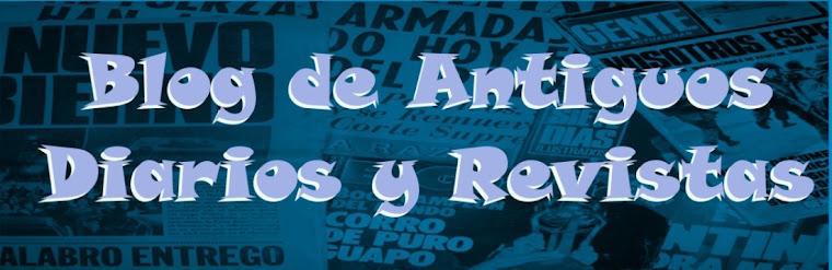 Publicaciones de Viejos Diarios y Revistas