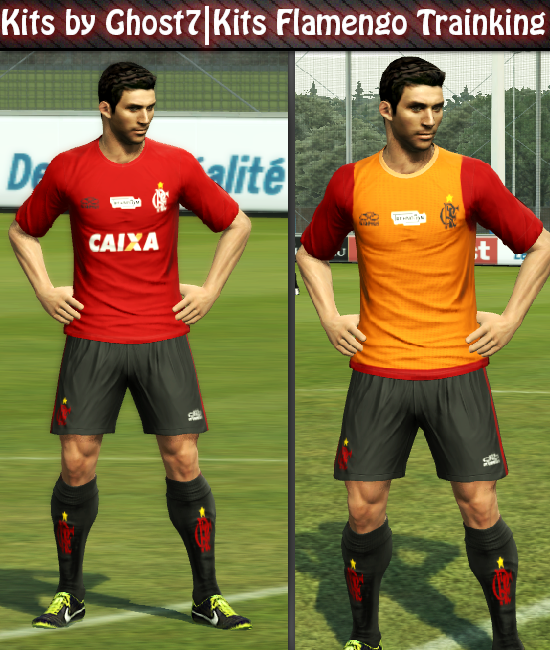 Kits Flamengo Training – PES 2013