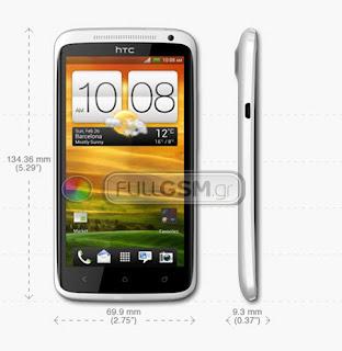 HTC One X with NVidia Tegra 3 Dual-Core CPU