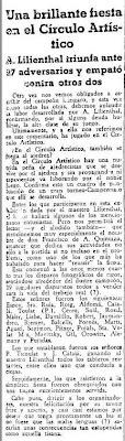 Recorte del Mundo Deportivo del 28 enero de 1934