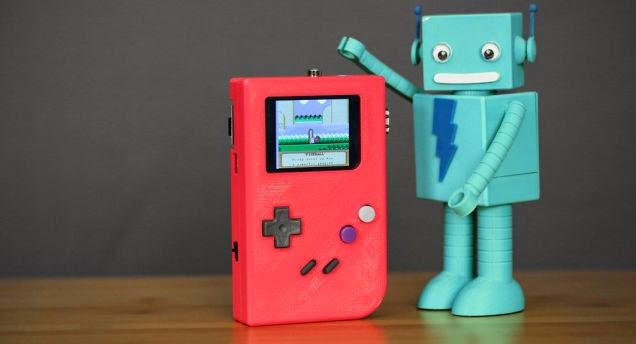 Crea tu propia consola Gameboy casera con una Raspberry Pi