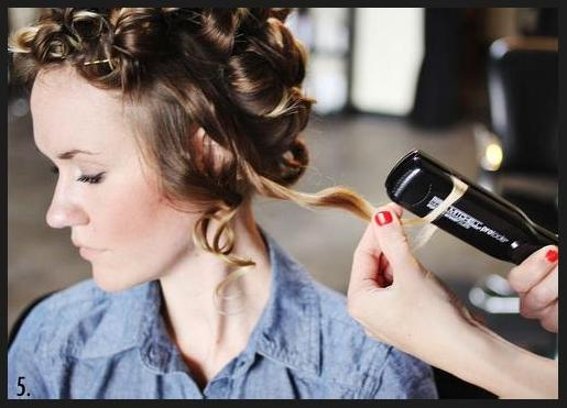 flat iron curls tutorial, flat iron curls, flat iron curling, curls with flat iron, curling with a flat iron, how to flat iron hair, flat iron curling hair
