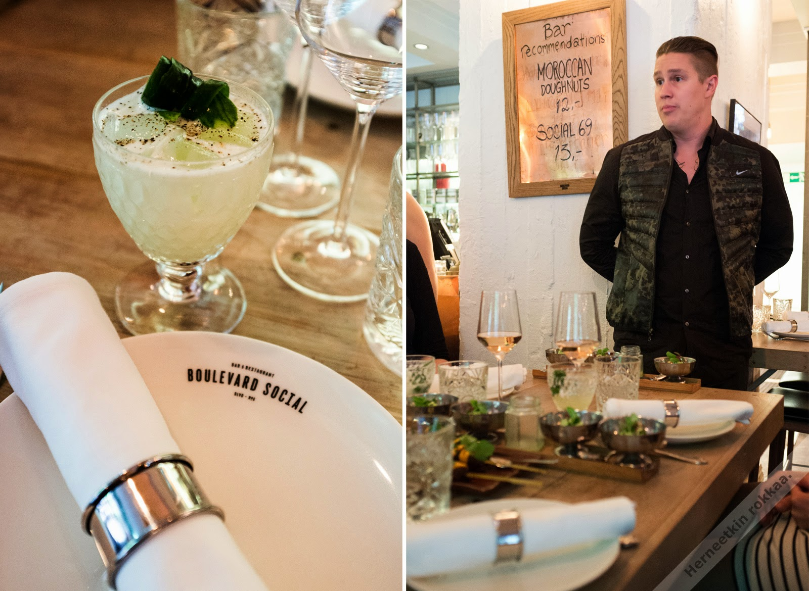 Maisteltu, Ravintola Gaijin ja Boulevard Social