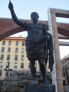 César Augusto, Zaragoza