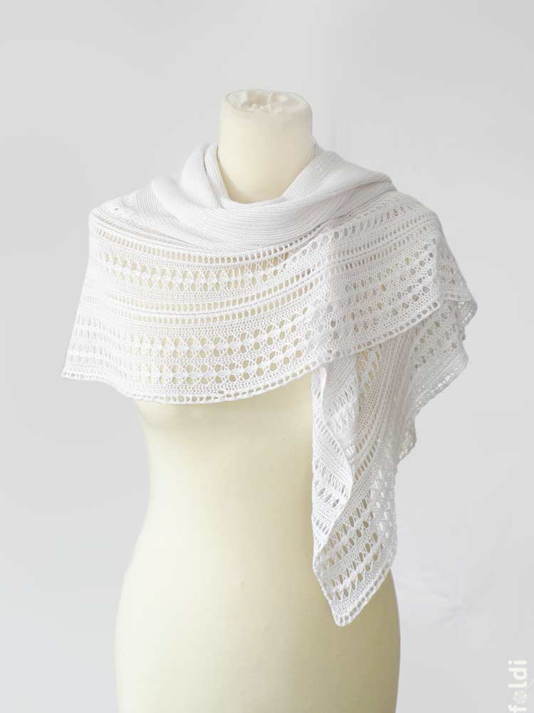 Knitting Machine Scarf Pattern : foldi: Chains Shoulderette