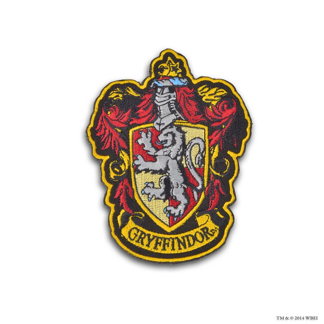 Tactueux image with gryffindor crest printable