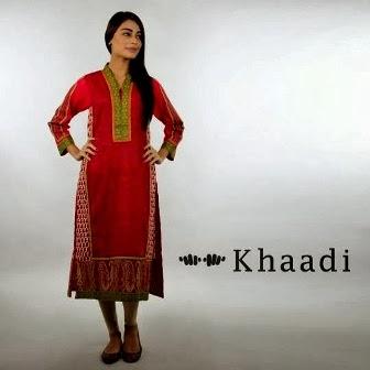 Khaadi Embroidered Dress