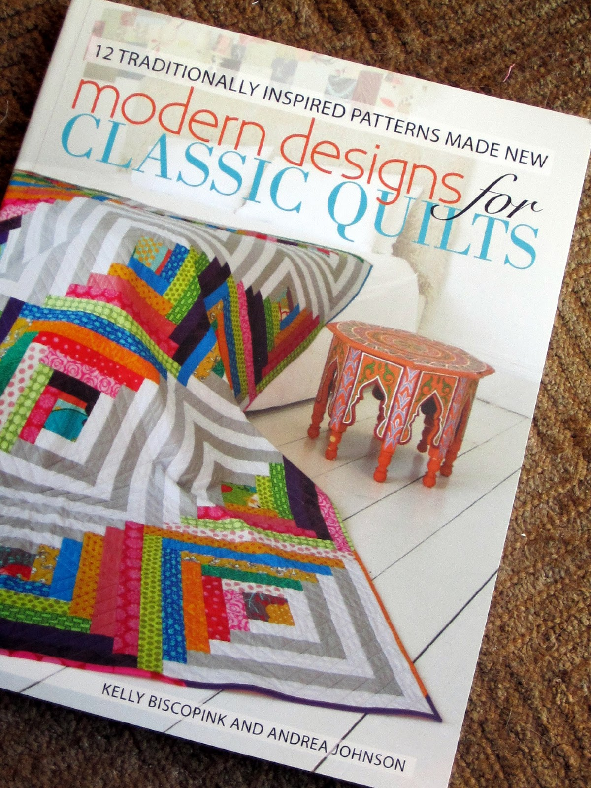 Book Review Modern Designs For Classic Quilts Craft Buds