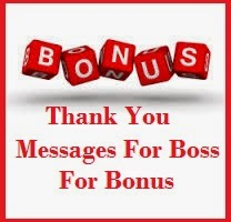 Thank you messages boss you need to keep a rapport with them to build good work relations if you have got a bonus at work then you surely need to say thank spiritdancerdesigns Images