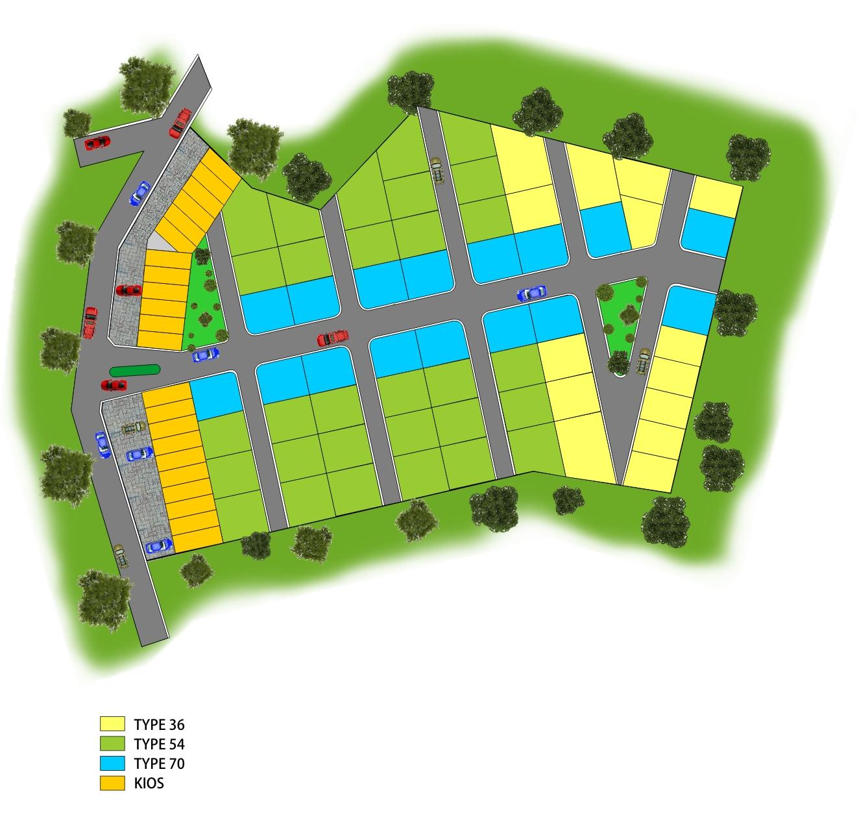 Design Site Plan Perumahan   Ask Home Design