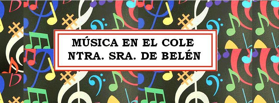 Música en el Cole Ntra Sra de  Belén (Murcia)
