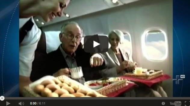 Aviação comercial brasileira teve momentos de glamour.