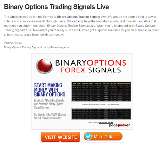 Best binary options signals 2017