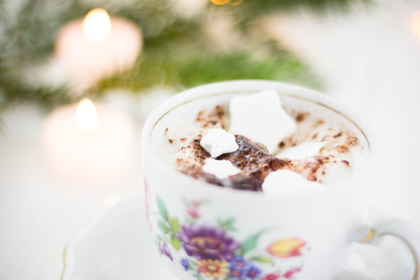 Adventsschokolade mit DIY Marshmallows