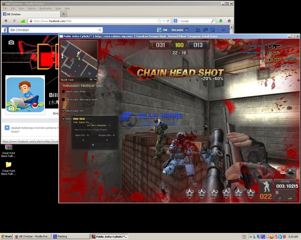 Cheat Point Blank Fullhack 23 November 2014