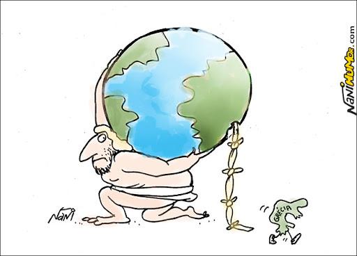 Grécia chuta o balde