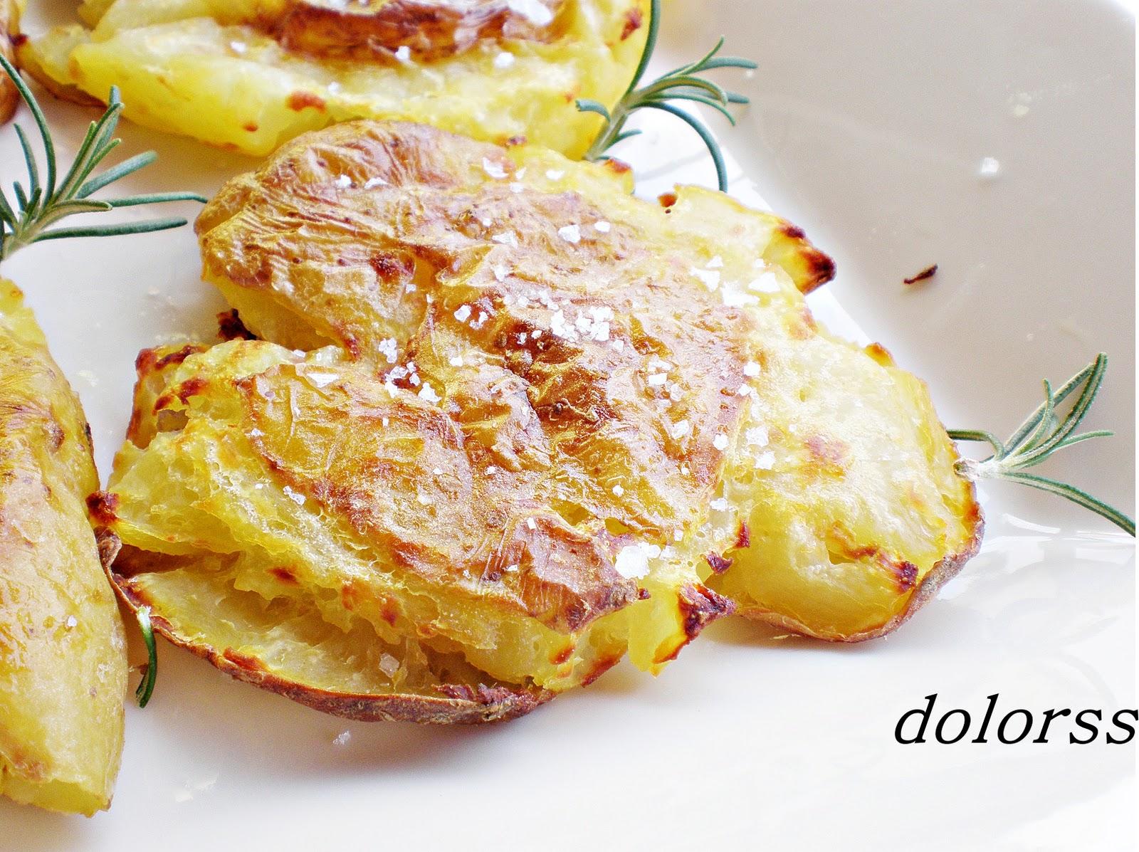 Blog de cuina de la dolorss patatas aplastadas dos texturas olla r pida - Patatas en olla rapida ...