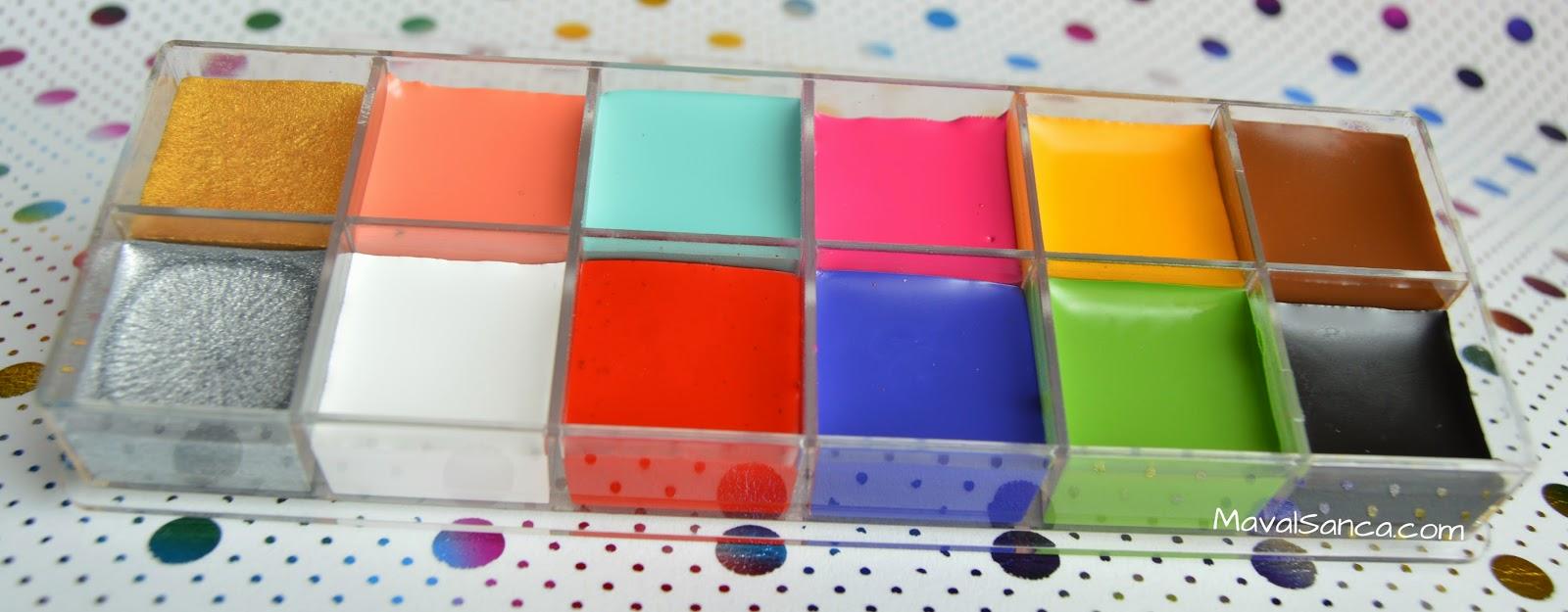 Paleta de colores para maquillaje de fantas a de for Paleta de colores pared