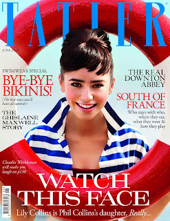 Lily Collins Tatler