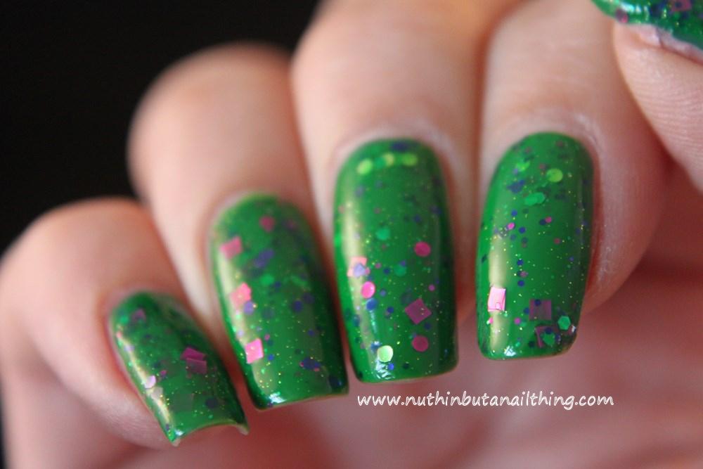 KB Shimmer - The Dancing Green