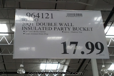 Deal for the Igloo Insulated Party Bucket Cooler at Costco