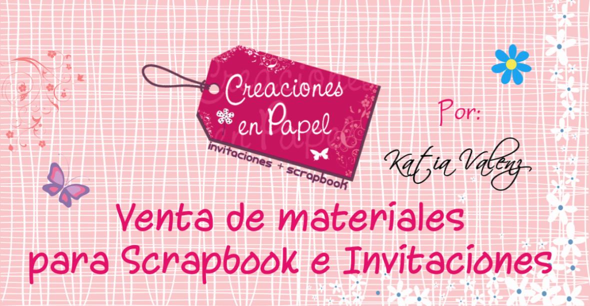 Creaciones en papel con Katia Valenzuela