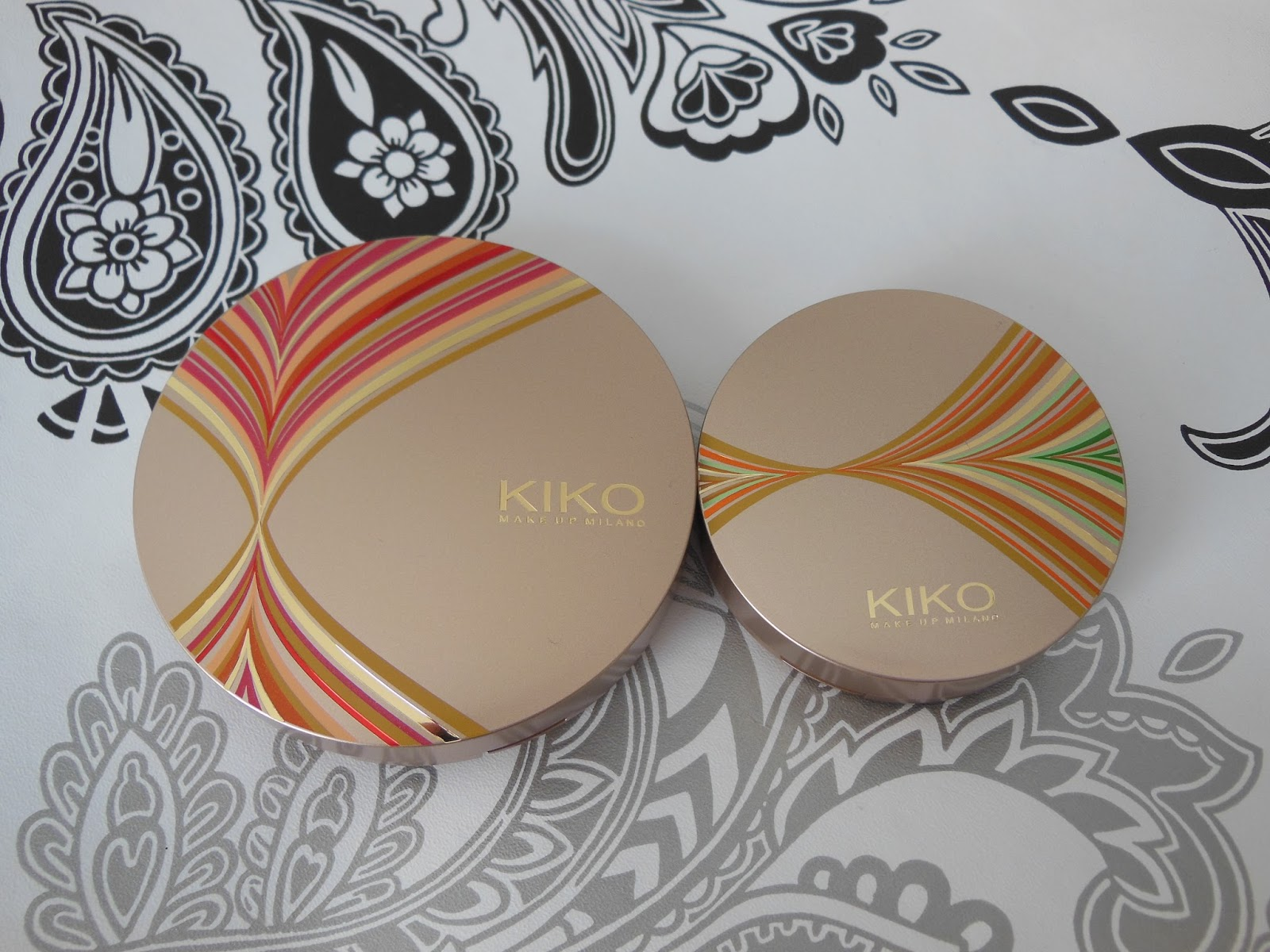 Kiko life in rio collection sun lovers blusher and bronzer