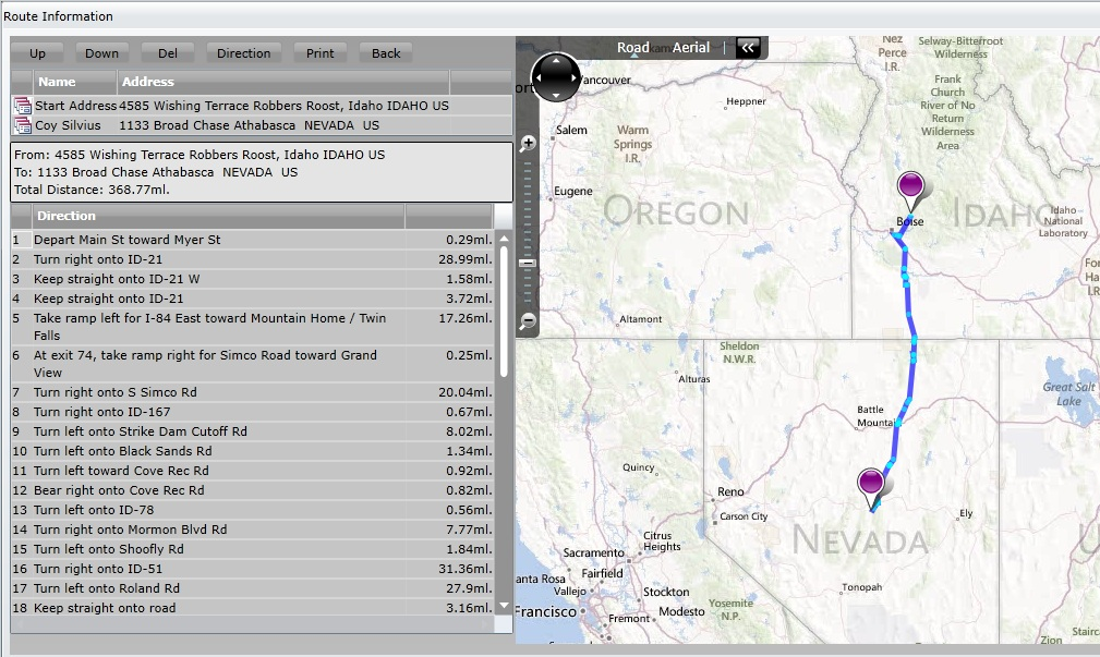Microsoft Dynamics CRM Tips Tricks And Addons May - Map a list of addresses