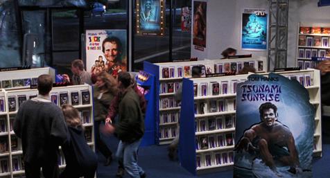 Tsunami Sunrise con Tom Hanks en El mundo perdido. Jurassic Park - Cine de Escritor