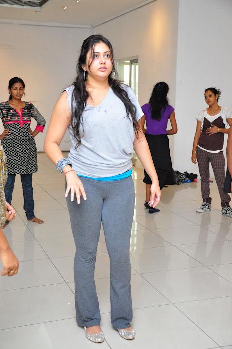 namitha dance reharsal unseen pics