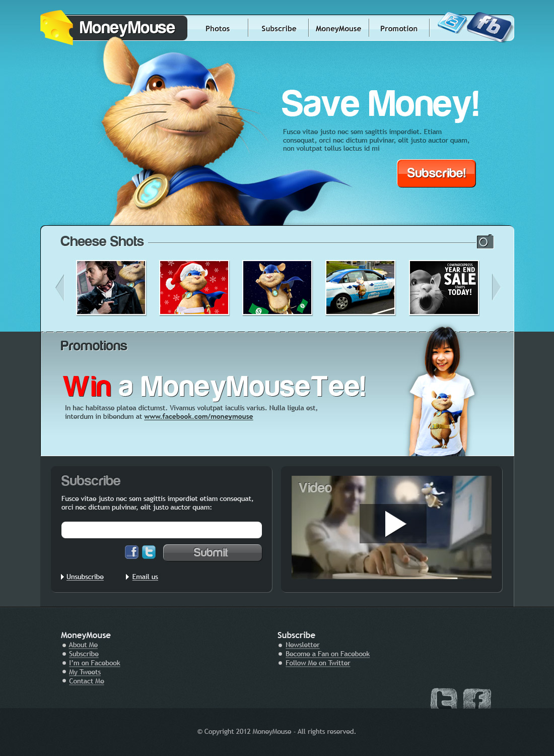 Web Design MoneyMouse