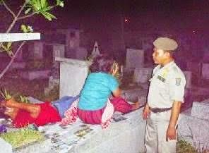 PSK Ditangkap Saat Mesum di Kuburan