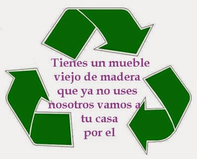 recicla tu mueble