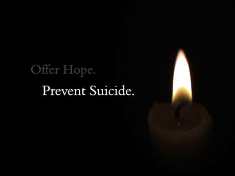 Offer Hope. Stop Suicide.