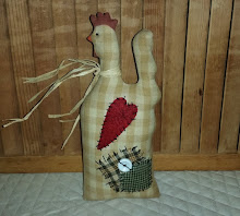 FOLKART COUNTRY ROOSTER / CHICKEN
