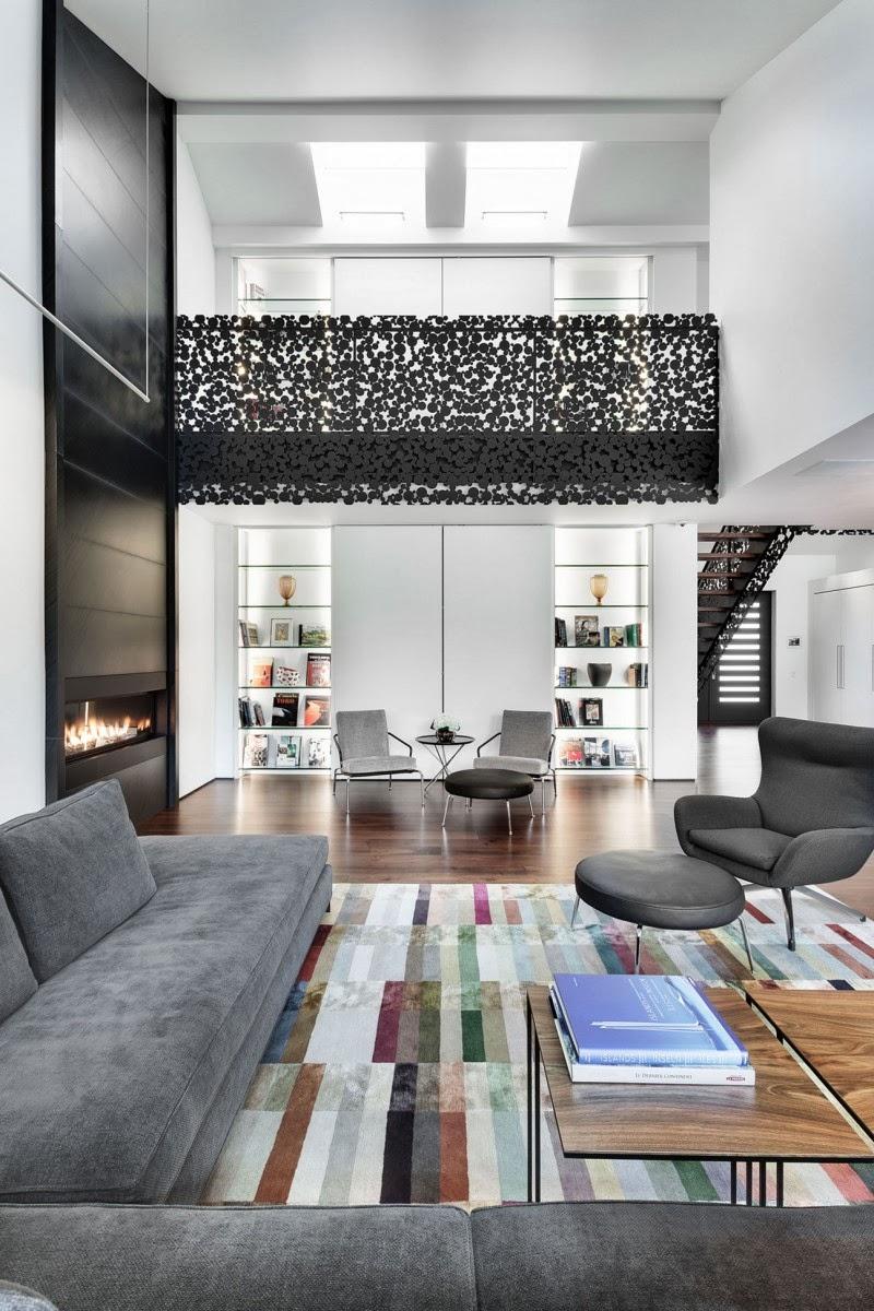 Hogares frescos casa impresionante dise ada con un - Diseno de interiores malaga ...