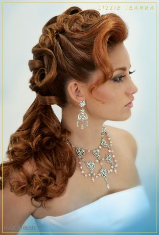 New Women Long Wedding Hair Styles