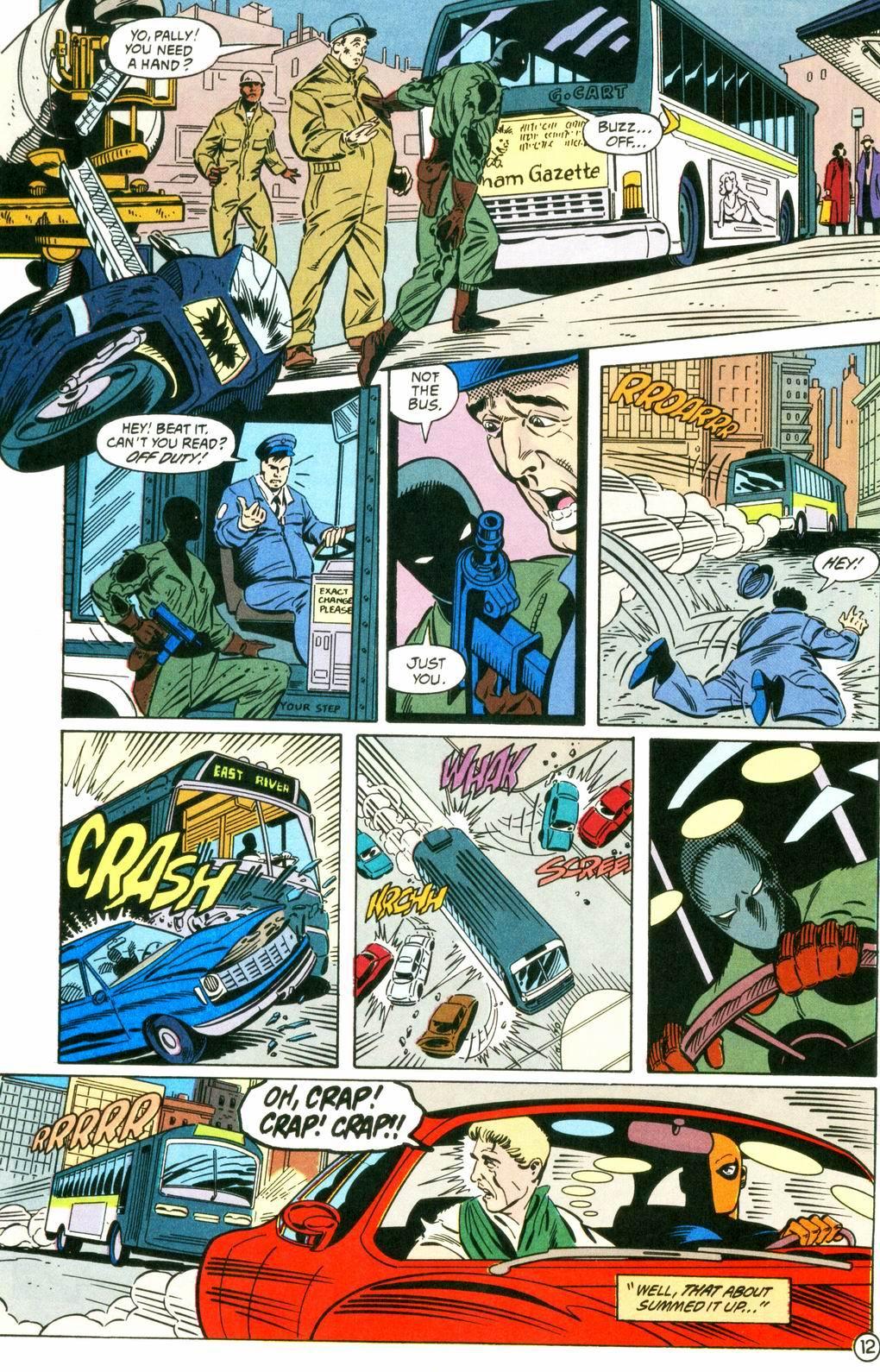 Deathstroke (1991) Issue #8 #13 - English 12