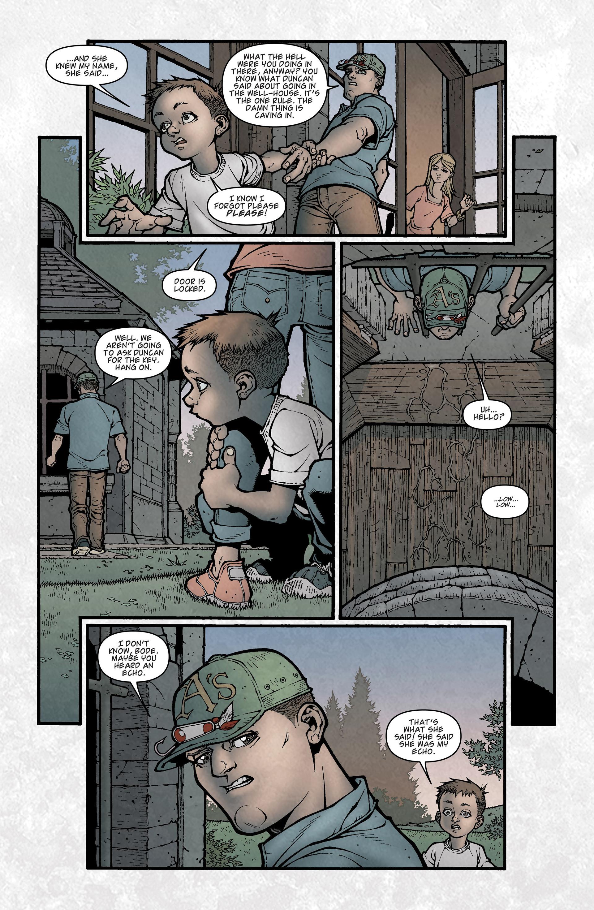 Locke & Key (2008) Issue #2 #2 - English 16