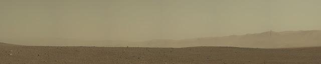 Foto da cratera Gale em Marte
