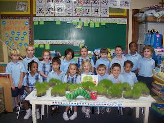 Montgomery Catholic Kindergarten Students Enjoy the Works of Eric Carle 1