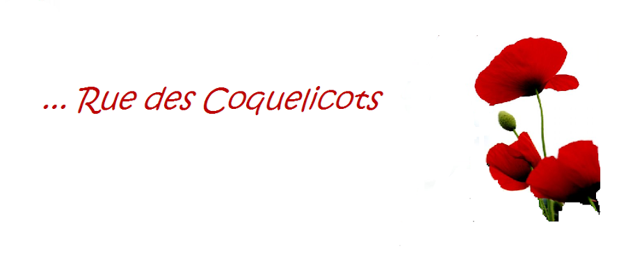 ...Rue des Coquelicots